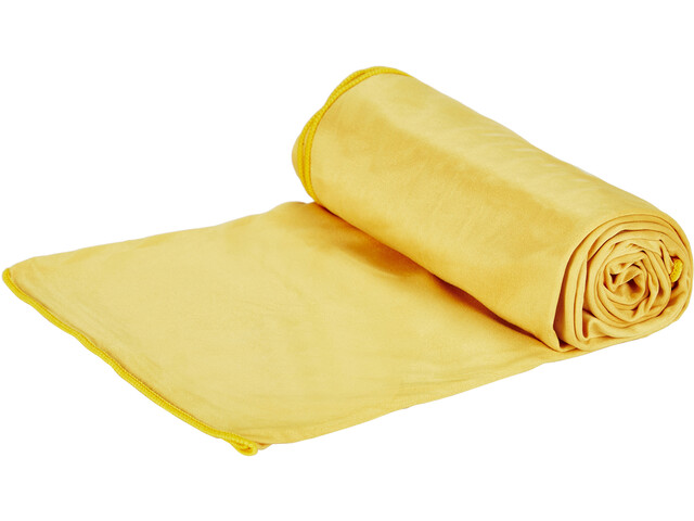 Jack Wolfskin Wolftowel Light Towel L burly yellow